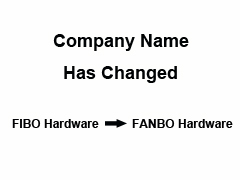 Name Changed, Fibo Hardware to Fanbo Hardware